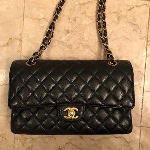 Chanel Classic Flap Medium Black Caviar